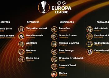 Сборная сезона Лиги Европы, uefa.com