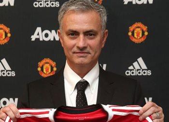 Жозе Моуриньо, фото ФК Манчестер Юнайтед