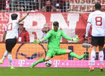 Бавария потеряла очки с Майнцом, Getty Images