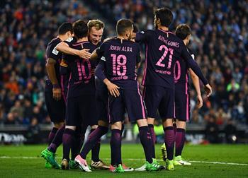 Барселона продолжает погоню за Реалом, Getty Images