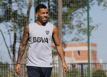 Карлос Тевес, фото ФК Бока Хуниорс