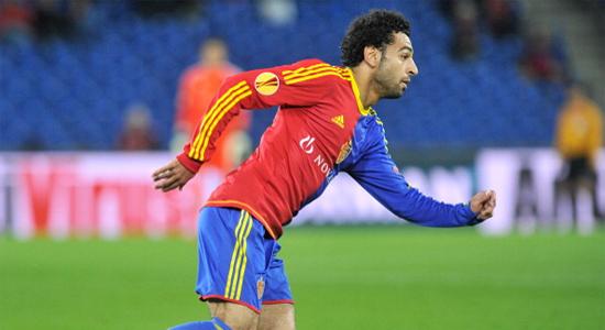 Мохамед Салах из Базеля принес Египту пятую победу в пяти матчах, Getty Images