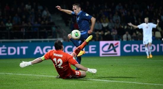 Волевая победа Франции в Беларуси