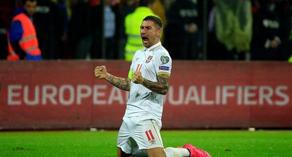 Гол Александара Коларова принес сербам победу над Эстонией, Getty Images