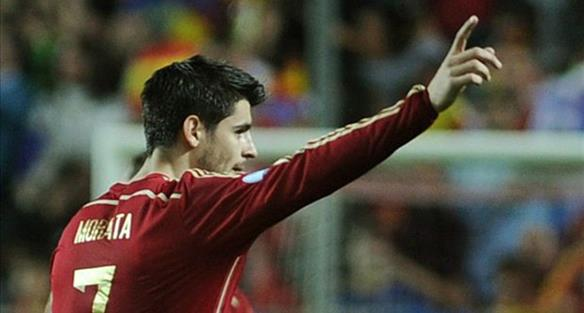 Альваро Мората, goal.com