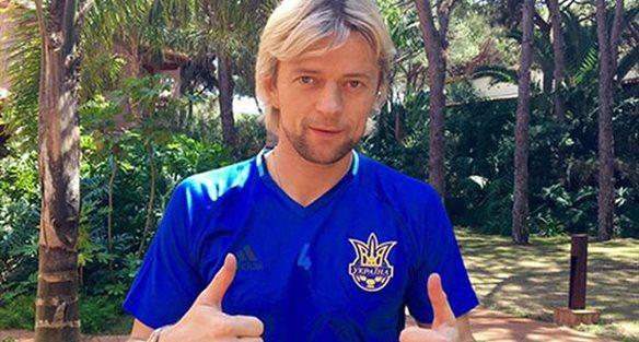 Тимощук присоединился ксборной государства Украины