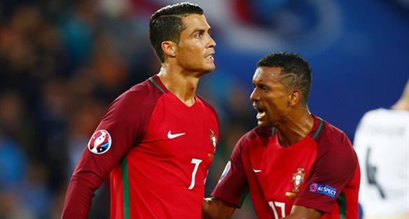Криштиану Роналду и Нани, Goal.com