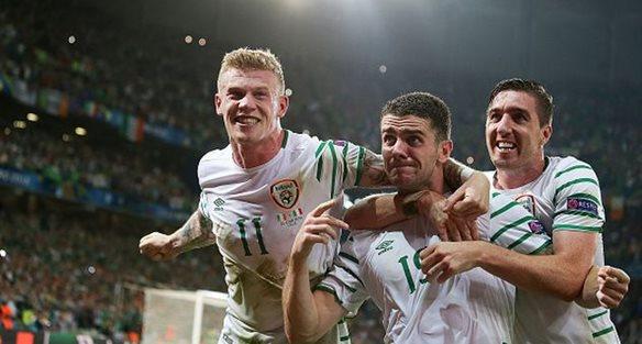 Радость ирландцев, getty images