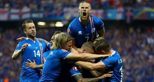 ЕВРО-2016. Англия - Исландия 1:2