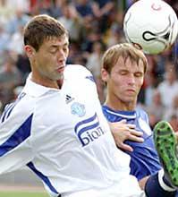 Александр Рыкун (слева), uefa.com