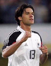 Баллак - главная звезда сборной Германии