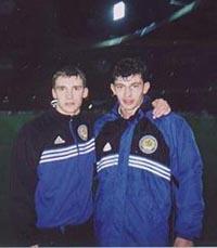 Андрей Шевченко и Каха Каладзе