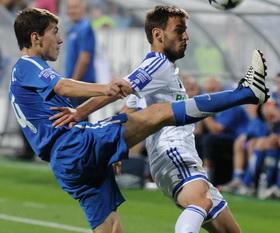 Кравченко против Нинковича, фото Ильи Хохлова, Football.ua