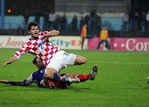 Бартулович в сборной, фото croatiansoccerreport.com