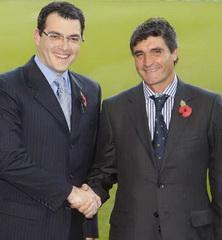 Комолли и Рамос, фото Reuters