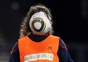 Голова-то у него светлая, футбольная, фото Getty Images