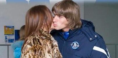 Шершуна встречает жена, fcdnipro.dp.ua