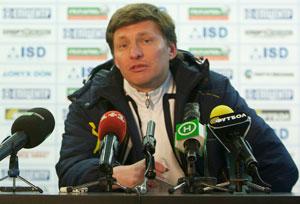 Андрей Гордеев, фото ФК Металлург