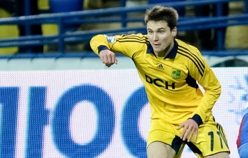 Денис Олейник, фото Дмитрия Неймырка Football.ua