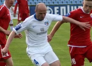 Дуляй готовится сделать ассист, фото А. Ильина, football.ua