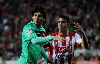 Хосе Анхель против Месси, фото Getty Images