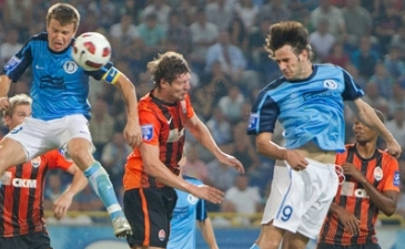 Первый гол Калинича в Украине, фото fcdnipro.ua