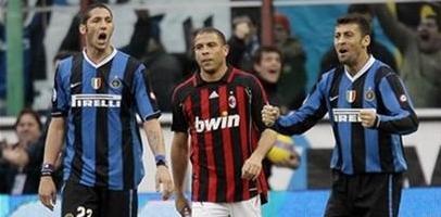 Полосатый рейс: Матерацци, Роналдо и Самуэль, фото AP