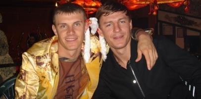 Андрей Несмачный и Максим Шацких