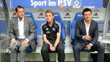 Франк Арнесен (слева), hsv.de