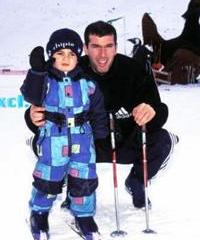 Зидан с сыном