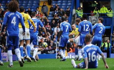 Так выглядит оборона Челси во время атак соперника, Getty Images