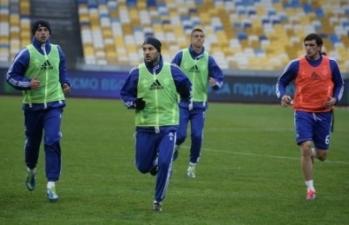 Динамо готовится к Ворскле, фото fcdynamo.kiev.ua