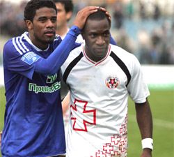 Леандро в матче с Динамо, фото fc.volyn.net