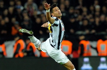 Марко Боррьелло открыл счет голам за Юве, Getty Images