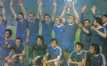 Динамо Тбилиси повторило успех одноклубников из Киева