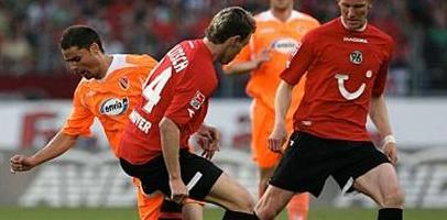 Балитч против Скелы, фото kicker.de