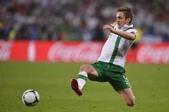 Дойл в футболке сборной Ирландии, фото Getty images