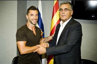 Симау Саброза возвращается в Барселону, rcdespanyol.com