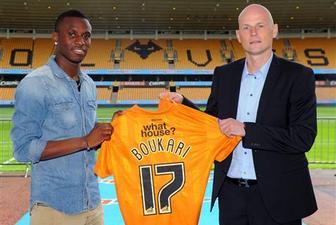Разак Букари, wolves.co.uk