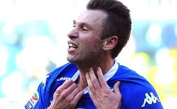 Кассано в футболе Сампдории, Getty Images