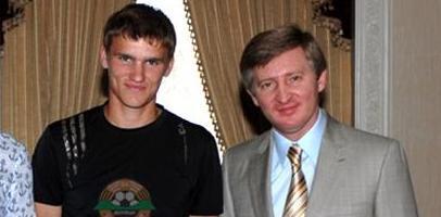 Александр Гладкий и Ринат Ахметов, фото shakhtar.com