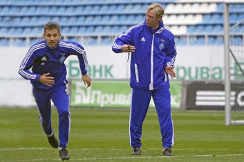 Милош Нинкович и Алексей Михайличенко, fcdynamo.kiev.ua
