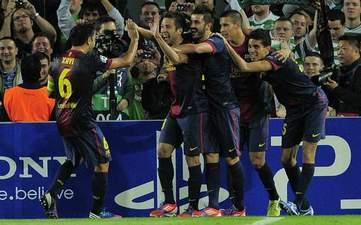 Празднование победного гола Альбы, Getty Images