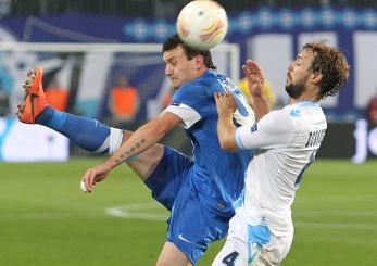 Артем Федецкий в игре против Наполи © Станислав Ведмидь, Football.ua