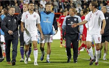 Англия после матча с сербами, Getty Images