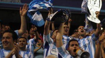 Болельщики Малаги, football-espana.net
