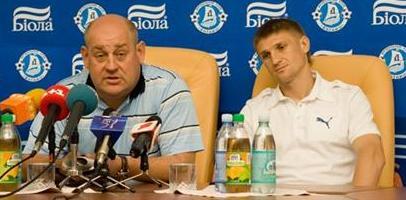 Андрей Стеценко и Владимир Езерский, фото fcdnipro.dp.ua