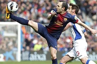 Иньеста - лучший игрок матча, фото marca.com