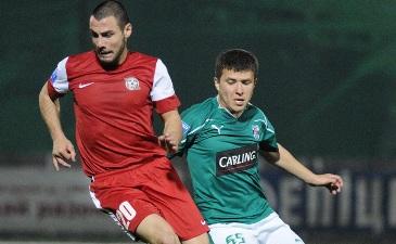 Сергей Кучеренко (справа), фото Ильи Хохлова, Football.ua