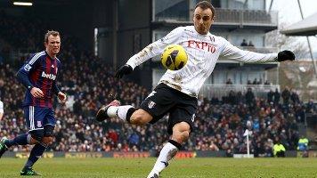 Бербатов забивает единственный гол, фото bbc.co.uk